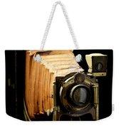 Vintaged Canadian Kodak Camera Weekender Tote Bag