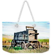 Vintaged Covered Wagon Weekender Tote Bag