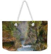 Vintgar Gorge Weekender Tote Bag
