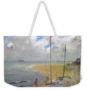 Viola In Virginia Beach Weekender Tote Bag