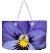 Viola Named Sorbet Blue Heaven Jump-up Weekender Tote Bag by J McCombie
