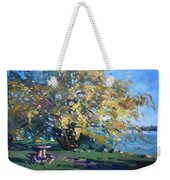Viola Walking In The Park Weekender Tote Bag
