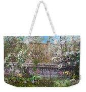 Viola's Apple And Cherry Trees Weekender Tote Bag