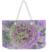 Violet And Green Weekender Tote Bag
