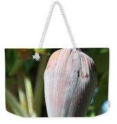 Violet Banana Blossom Weekender Tote Bag