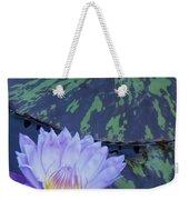 Violet Lily Weekender Tote Bag