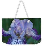 Violet Lines Weekender Tote Bag