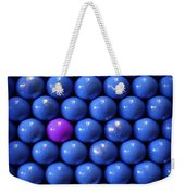 Violet Lost In Blue Weekender Tote Bag