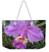 Violet Orchid Weekender Tote Bag