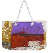 Violet Roof Weekender Tote Bag