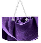 Violet Rose Weekender Tote Bag by Adam Romanowicz