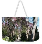 Violet Tree Alley Weekender Tote Bag