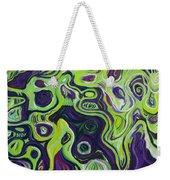 Violeta E Verde Weekender Tote Bag