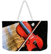 Violin Impression Redux Weekender Tote Bag