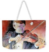 Violin Man Weekender Tote Bag