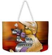 Violin Player Weekender Tote Bag by Marvin Blaine