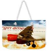 Virgin America A320 Weekender Tote Bag