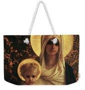 Virgin And Child Weekender Tote Bag by Antoine Auguste Ernest Herbert