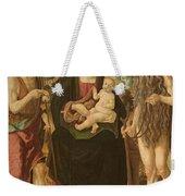 Virgin And Child Between St. John Weekender Tote Bag