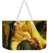 Virgin And Child Weekender Tote Bag by Paul  Delaroche
