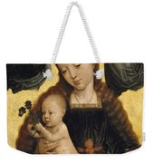 Virgin And Child With Angels Weekender Tote Bag