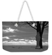 Virgin Mary At Sunset In South Haven Michigan Weekender Tote Bag