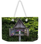Virgin Mary Shrine Weekender Tote Bag