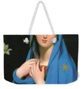 Virgin Of The Adoption Weekender Tote Bag