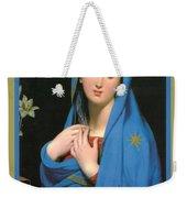 Virgin Of The Adoption Poster Weekender Tote Bag