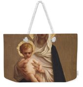 Virgin Of The Deliverance Weekender Tote Bag