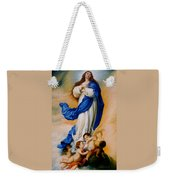 Virgin Of The Immaculate Conception After Murillo Weekender Tote Bag
