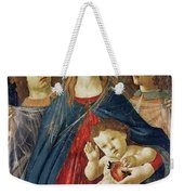 Virgin Of The Pomegranate Weekender Tote Bag