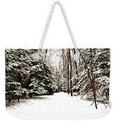 Virgin Snow Weekender Tote Bag
