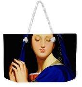 Virgin With The Host After Ingres Weekender Tote Bag