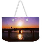 Virginia Sunset Weekender Tote Bag