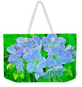 Virginia Waterleaf Near Alamo-michigan Weekender Tote Bag