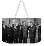 Visionaries Weekender Tote Bag by Benjamin Yeager