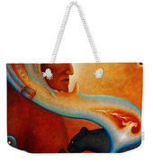 Visions Of A New Earth Weekender Tote Bag