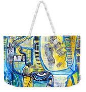 Visions Of Perceptive Elements Weekender Tote Bag