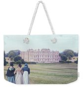 visiting Mr Darcy Weekender Tote Bag