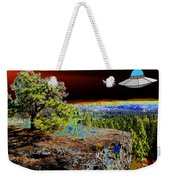 Visiting Rimrock In Spokane Weekender Tote Bag
