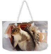 Visiting The Outhouse Weekender Tote Bag
