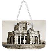 Vista House - Sepia Weekender Tote Bag
