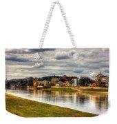 Vistula River In Cracow Weekender Tote Bag