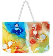 Vitality - Contemporary Art By Sharon Cummings Weekender Tote Bag