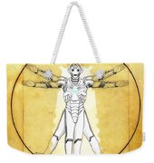Vitruvian Cyberman Weekender Tote Bag