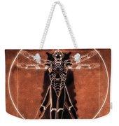 Vitruvian Cyberman On Mars Weekender Tote Bag