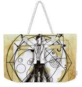 Vitruvian Dr Who Weekender Tote Bag