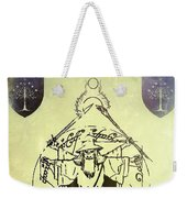Vitruvian Gandalf The White Weekender Tote Bag