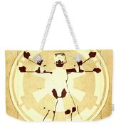 Vitruvian Stormtrooper Ghost Weekender Tote Bag